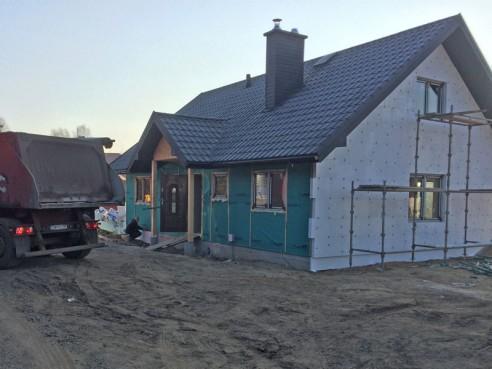 Wykonanie posadzek w domu drewnianym