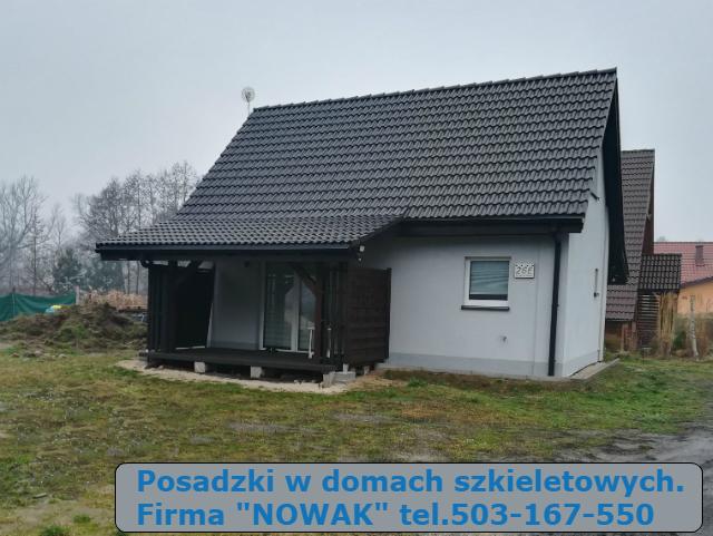 posadzki dom szkieletowy