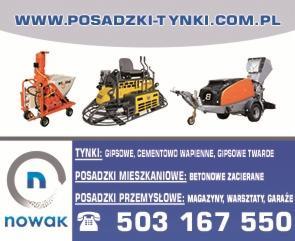 firma Nowak posadzki wizytówka
